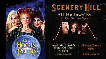 Scenery Hill – All Hallows' Eve – Hocus Pocus Screening & Trick-or-Treat tickets