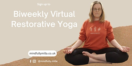 Biweekly Virtual Restorative Yoga tickets