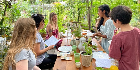 Seed-to-Table Meal / Tea Workshop & Permaculture Tour with Chickens tickets