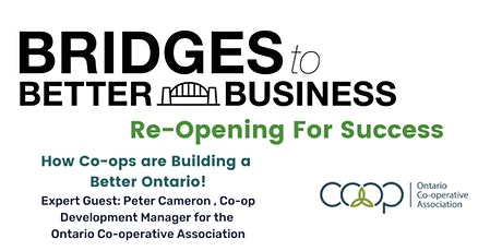 How Co-ops are Building a Better Ontario! tickets