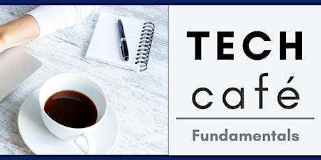Tech Café: Digital Documents bilhetes