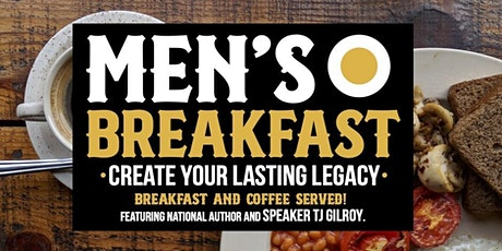 Men's Breakfast with National author and speaker TJ Gillroy tickets