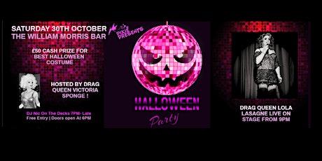 Halloween LGBTQi Night With Drag Queen Lola Lasagne tickets