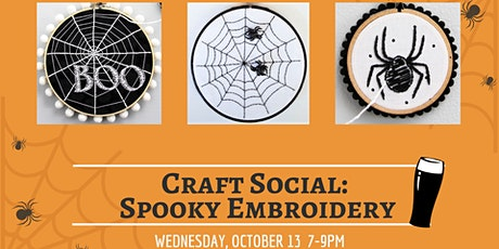 Spooky Embroidery tickets