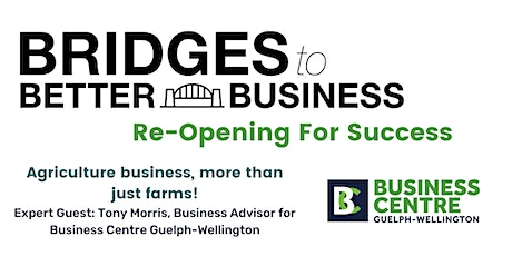 Agriculture business, more than just farms! tickets