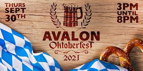 Avalon Oktoberfest 2021 tickets