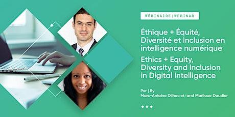Éthique+ÉDI en intelligence numérique//Ethics + EDI in Digital Intelligence tickets