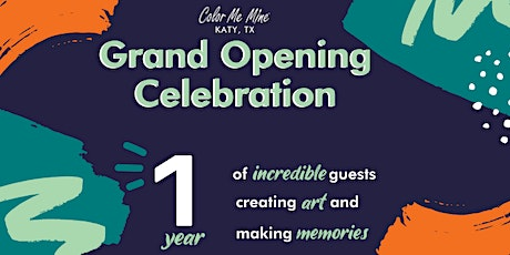 Grand Opening Celebration | Color Me Mine Katy tickets