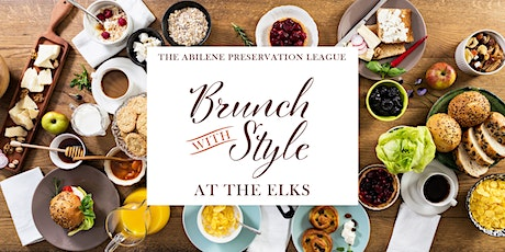 Brunch with Style at the Elks tickets