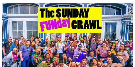 The Sunday Funday Party Crawl New Orleans tickets