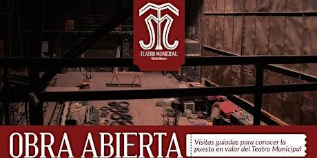 OBRA ABIERTA: Visitas guiadas al Teatro Municipal de Bahía Blanca entradas