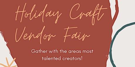 Craft and Vendor Fair! tickets