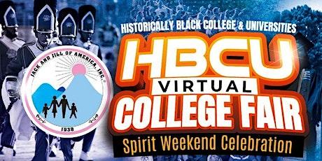 2021 HBCU Virtual College Fair tickets