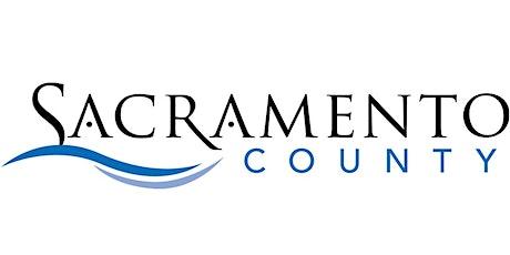 Sacramento County's Application Workshop tickets