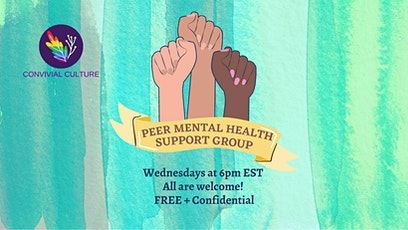 Peer Mental Health Support Group tickets