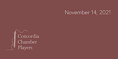 Concordia Chamber Players @ Trinity: Sunday, November 14, 2021 tickets