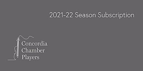 2021-22 Concordia Regular Season Subscription tickets