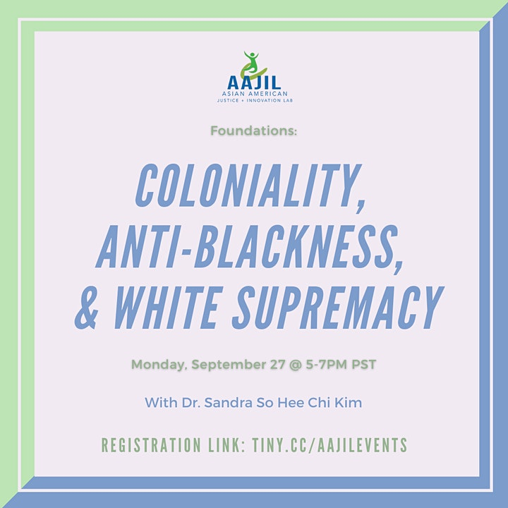 Coloniality, Anti-Blackness, and White Supremacy image