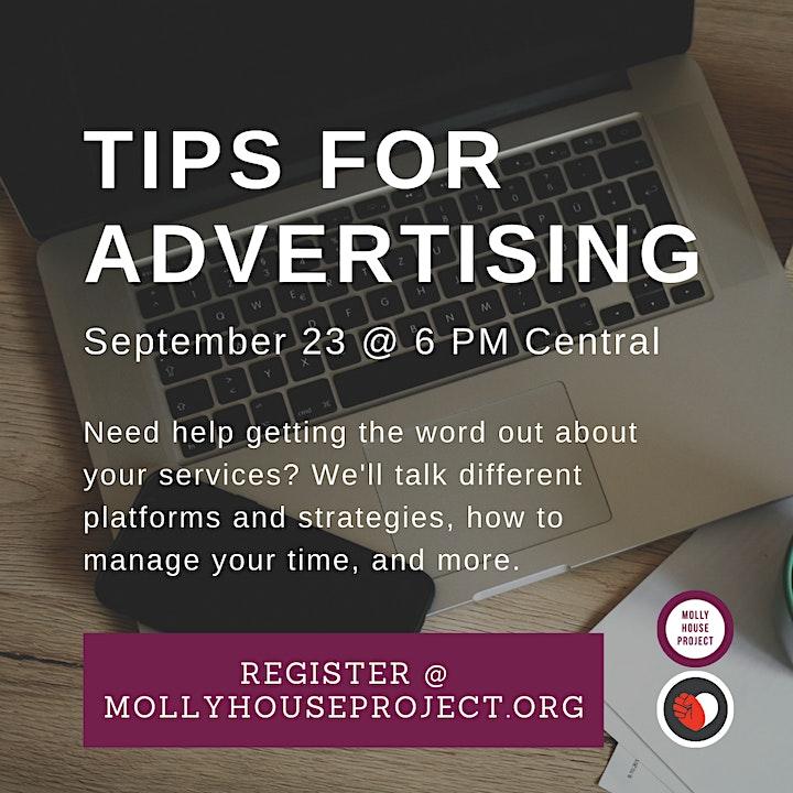 MHP September Chat: Advertising image