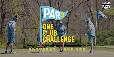 Par 3 One Club Challenge tickets