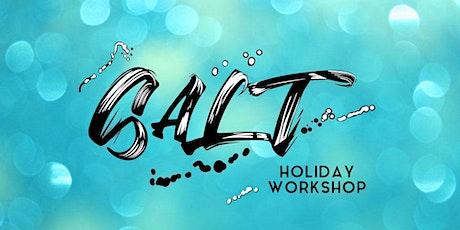 SALT Holiday Workshop - October 2021 tickets
