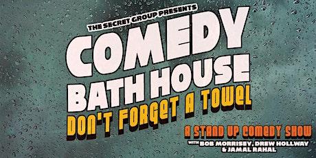 Comedy Bath House tickets