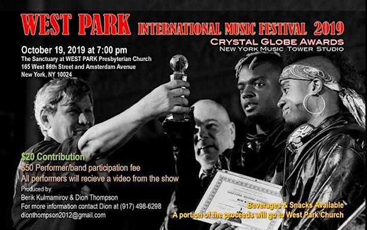 West Park International Music Festival 2021 image