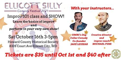 Ellicott Silly Comedy Festival presents Michael Furr's Improv 101 Workshop tickets