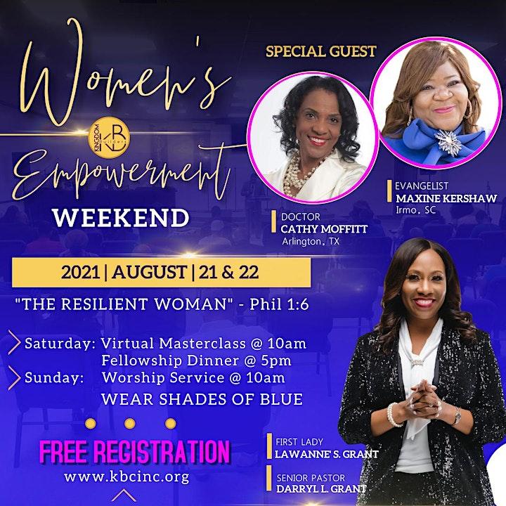 Women's Empowerment Weekend 2021 image