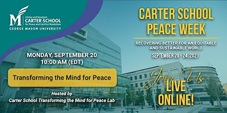 Transforming the Mind for Peace tickets