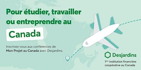 Entreprendre au Québec tickets