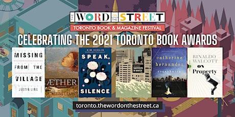 Celebrating the 2021 Toronto Book Awards tickets