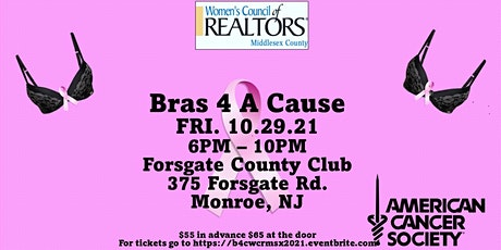 Bras 4 a Cause WCR Middlesex 2021 tickets