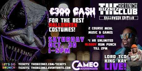 The Bizznez Brunch Club Bournemouth! Halloween tickets