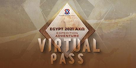 Egypt AXΩ 2021 - Virtual Pass tickets