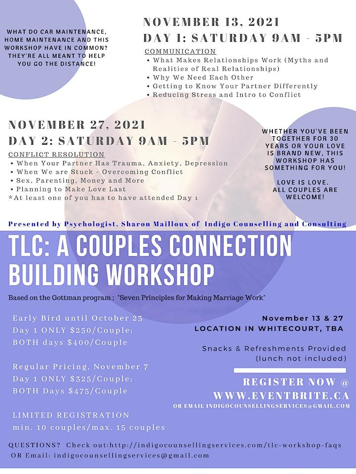 TLC: A Couples Connection Building Workshop image