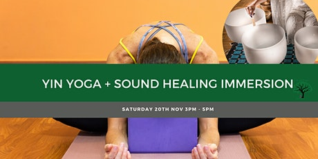 Yin Yoga Meridian Focus + Sound Healing Immersion tickets