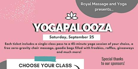 YogaPalooza -2nd Annual Yoga Festival tickets