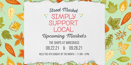 Simply Support Local Street Market tickets