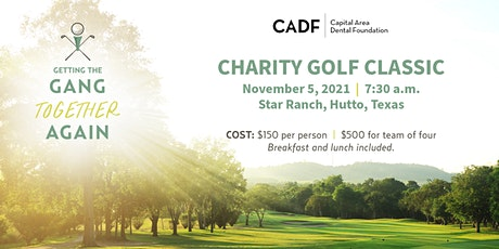 Capital Area Dental Foundation Charity Golf Classic tickets