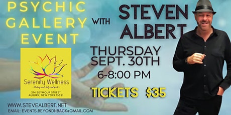 Steve Albert: Psychic Gallery Event -Serenity Wellness tickets
