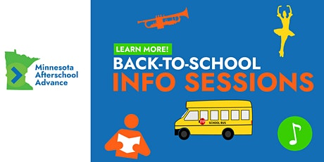 MAA Back-to-School Info Sessions tickets