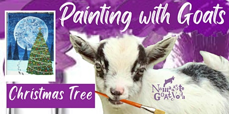 Painting with Goats: Christmas Tree! tickets