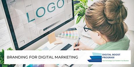 Branding for Digital Marketing tickets