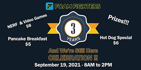 Foam Fighters - 3 Years and We're Still Here!! tickets