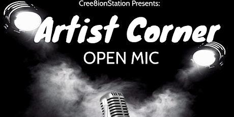 The Artist Corner Open Mic tickets