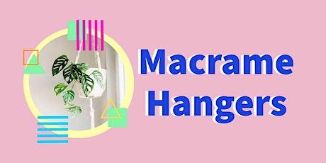 Macrame Hangers     Trott Park tickets