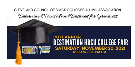 Student Registration |19th Annual Destination HBCU College Fair tickets