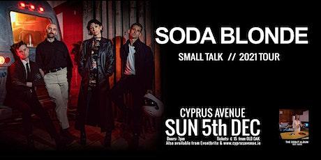 SODA BLONDE tickets