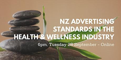 NZ Advertising Standards in the Health & Wellness Industry -Online Workshop tickets